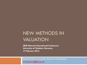 new mehods in valuation