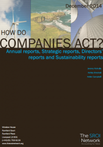 how do companies act