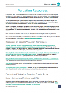 valuation resources review