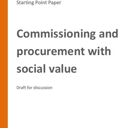 Commissioning procurement social value