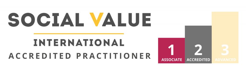 Social Value International Accredited Practitioner logo