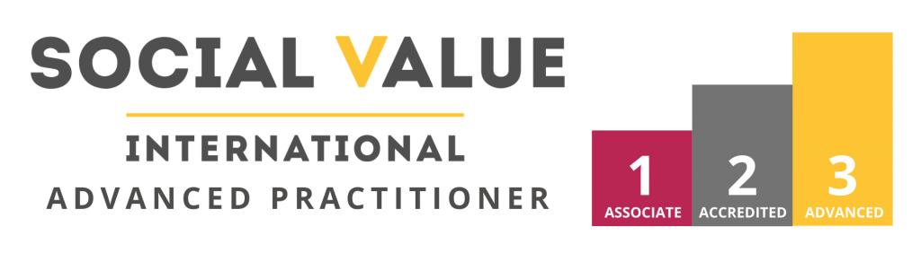Social Value International Advanced Practitioner logo